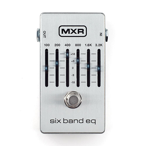 MXR M109S 6-Band Graphic EQ